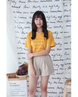 Korea Together Tee (Mustard)