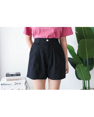 Korea Basic -5kg Rubber Short Pant (Black)