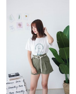 Korea Wonder Tee (White)