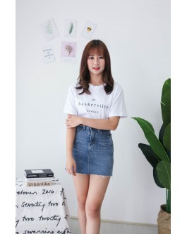Korea Baskerville Tee (White)