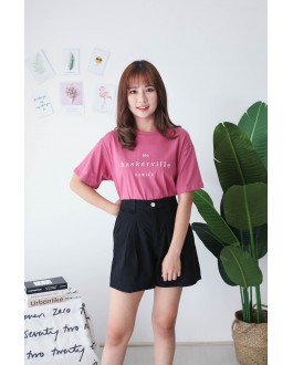 Korea Baskerville Tee (Brick)