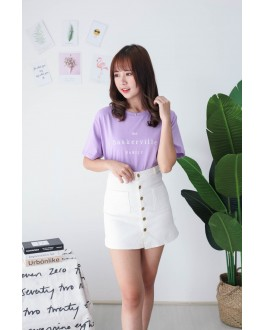 Korea Baskerville Tee (Purple)